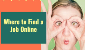 Where to find a job online