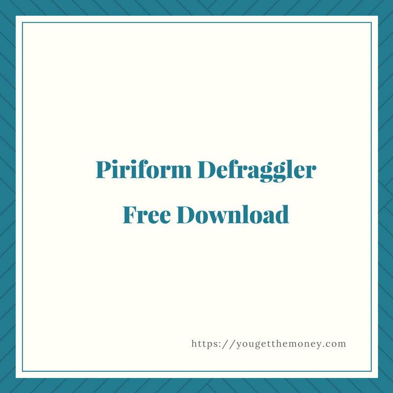 piriform defraggler free