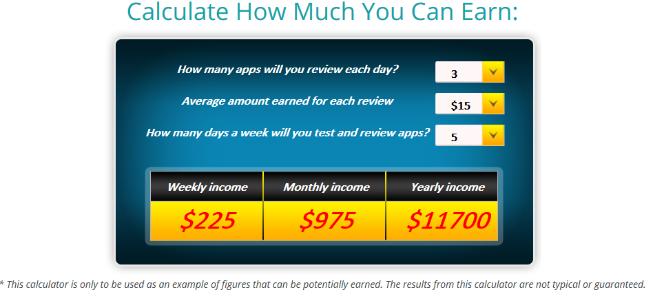 appcoiner how much earn