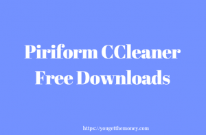 Piriform CCleaner Free Download
