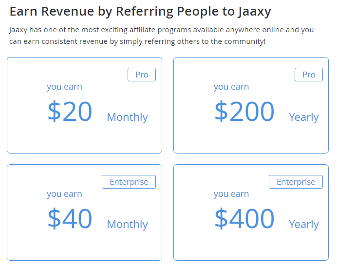 Jaaxy Affiliate Income
